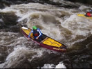 Whitewater boating on the Pigeon River