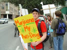 NORML Students protest