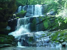 Little Bradley Falls in motorcycle country